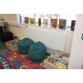 Library reading corner