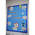 Science display board