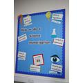 Science display board