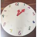 Jacob's teaching time clock