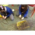 Weaving to create our houses