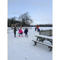 Enjoying the snow!