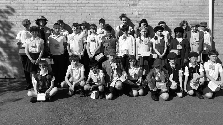 Class 14 become evacuees! Have a look through our full gallery of photos below...