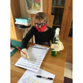 Practising spellings in the safest way possible!