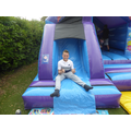This bouncy castle deserves a thumbs up!