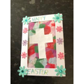 Christian Easter symbolism in Spring colours