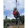 Zip wire photos coming up...