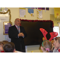 The Rt Hon Mr Zahawi (our MP) Visited Our Class