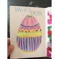 An Easter card made for an elderly neighbour :)