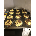 Rhianne has made delicious cakes...
