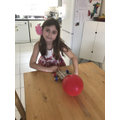 Balloon vehicle... a huge success!