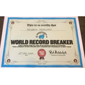 Reuben is a record breaker! :)