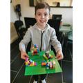 Happy Lego scene