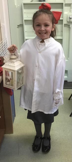 Our very own Florence Nightingale!