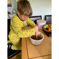 Baking with Oliver!