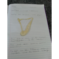 Lacey's amazing information about the harp.