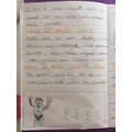 Harley's amazing Trolls information booklet.