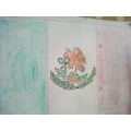 The Mexican flag, by Reuben N