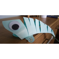 Reuben made a 3D moving fish for World Ocean Day