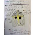 Sutton Hoo Helmet by Maisie