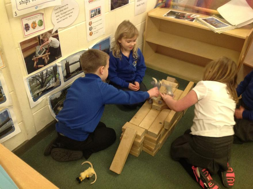 Building famous bridges