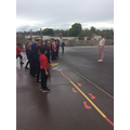 As part of our maths we were practising turns