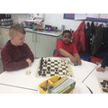 Practising our chess skills