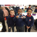 We made 3D shapes using modelling materials