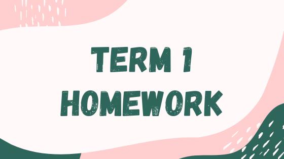 Term 1 Homework