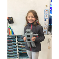 Our topic homework; build our own robot!