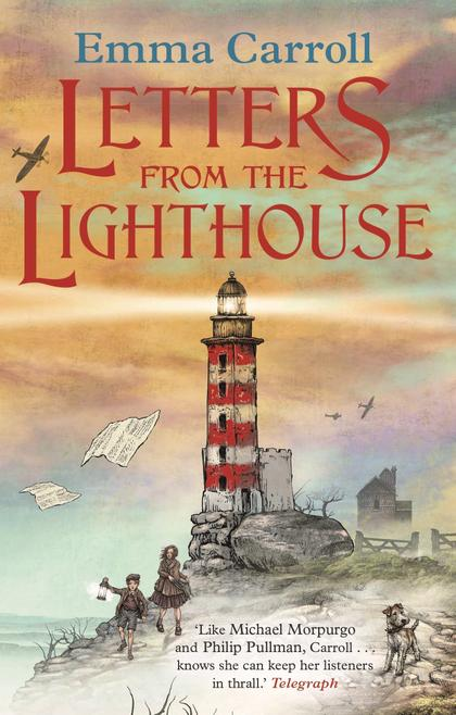 Front cover of the novel Letters from the Lighthouse by Emma Carroll