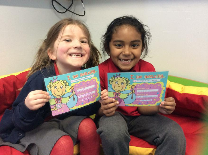 Well Done Holly & Inaaya!