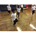 Hopping, galloping and side stepping in PE