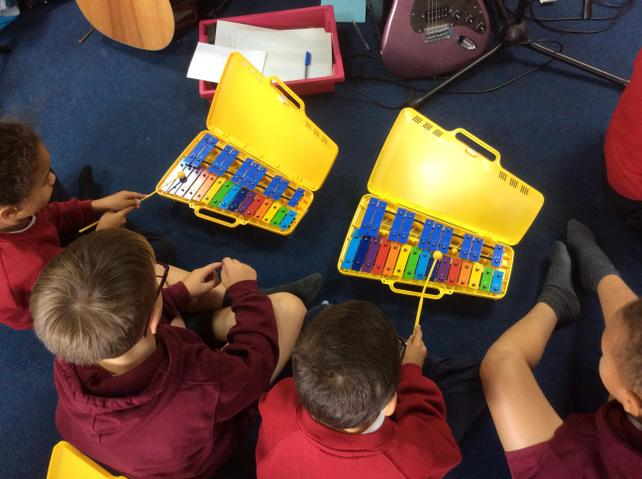 Music lessons with Mr Scullin