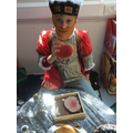 Henry VIII at his banquet!