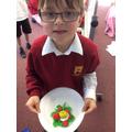 Sugar paste Tudor roses