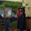 The Wicked Queen talks to the Magic Mirror