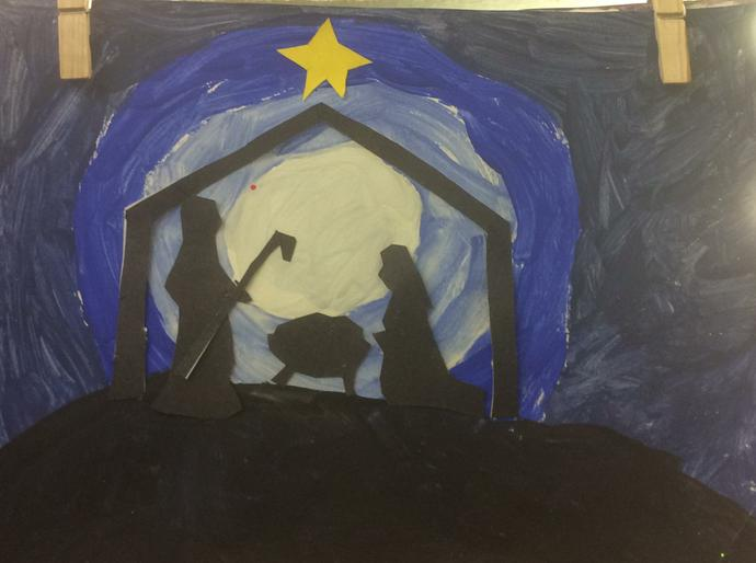 Year 3 Nativity Art