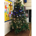 The tree in the hall