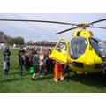 The East Anglian Air Ambulance.