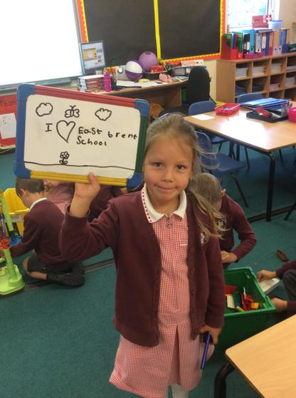 We love East Brent school too.