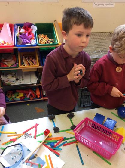 Exploring making shapes