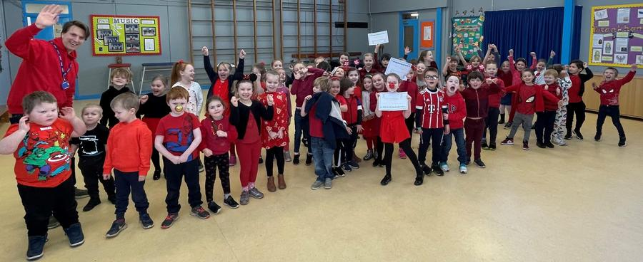 Key Stage 1 Comic Relief