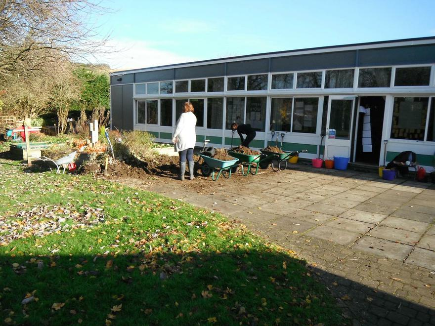 Grounds day: parents,staff and volunteers Nov 16