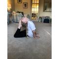 Practising acro