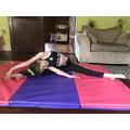 Keeping up with gymnastics training