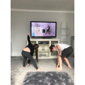 Working out with Joe Wicks