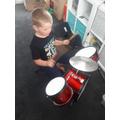 Drumming practice!