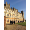 Holly Class visit Highclere Castle