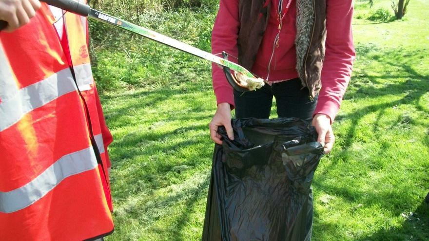 Litter Picking in the Village